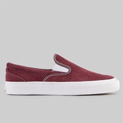 CONVERSE ONE STAR CC SLIP ON PRO DARK BURGUNDY WHITE