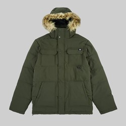 DICKIES MANITOU QUILTED PARKER JACKET ARMY GREEN