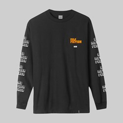 HUF X PULP FICTION BAD MOTHER FUCKER LS TEE BLACK