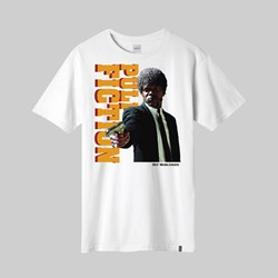 HUF X PULP FICTION EZEKIEL SS TEE WHITE
