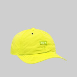 HUF DWR FUCK IT CV 6 PANEL HAT HOT LIME