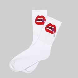 POST DETAILS KITSCH SOCKS WHITE