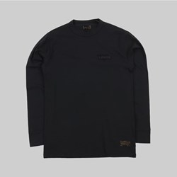 LEVI'S SKATE GRAPHIC LS TEE BATWING BLACK
