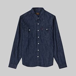 LEVI'S SKATE WESTERN SHIRT S&E WESTERN RINSE