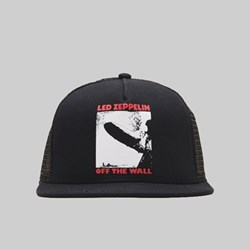 VANS X LED ZEPPELIN TRUCKER CAP BLACK