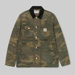 CARHARTT MICHIGAN COAT CAMO LAUREL AGED CANVAS