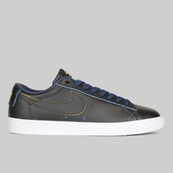 NIKE SB X NBA ZOOM BLAZER LOW GT BLACK AMARILLO COAST