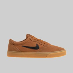 NIKE SB CHRON SLR LT BRITISH TAN BLACK GUM BROWN