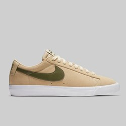 NIKE SB ZOOM BLAZER LOW GT DESERT ORE MEDIUM OLIVE