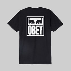 OBEY EYES ICON SS T-SHIRT BLACK