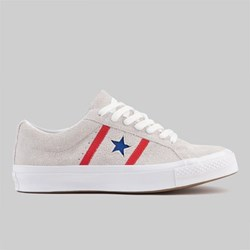 CONVERSE ONE STAR ACADEMY OX WHITE ENAMEL RED