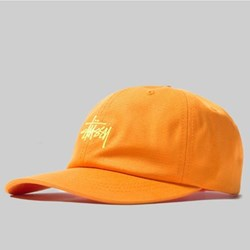 STUSSY SP19 STOCK LOW PRO CAP ORANGE