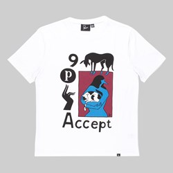 BY PARRA ACCEPT SS T-SHIRT WHITE