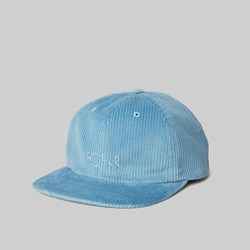 POLAR SKATE CO. CORD CAP SKY BLUE
