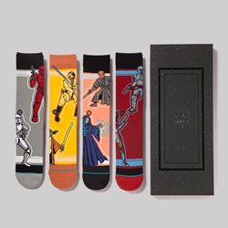 STANCE SOCKS X STAR WARS 'DUOS' 4 PACK BOX SET