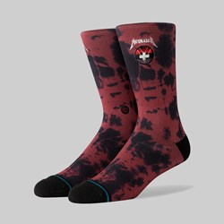 STANCE SOCKS X METALLICA 'MASTER OF PUPPETS' RED
