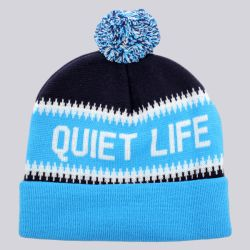 The Quiet Life Flake Beanie Navy Blue