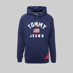 TOMMY JEANS AMERICANA HOODIE BLACK IRIS