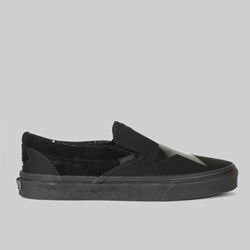 VANS X DAVID BOWIE 'BLACKSTAR' CLASSIC SLIP ON BLACK
