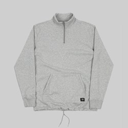 VANS VERSA QUARTER ZIP CEMENT HEATHER GREY