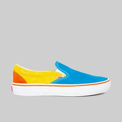 VANS X SIMPSONS SLIP ON PRO BLUE YELLOW