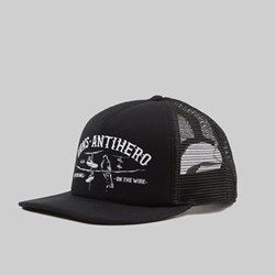 VANS X ANTI HERO WIRED TRUCKER CAP BLACK