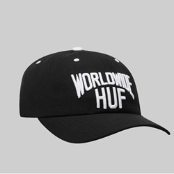 HUF MANHATTAN CV HAT BLACK